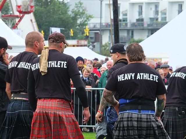 skotská slavnost