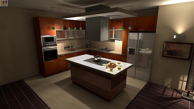 elegantní kuchyně