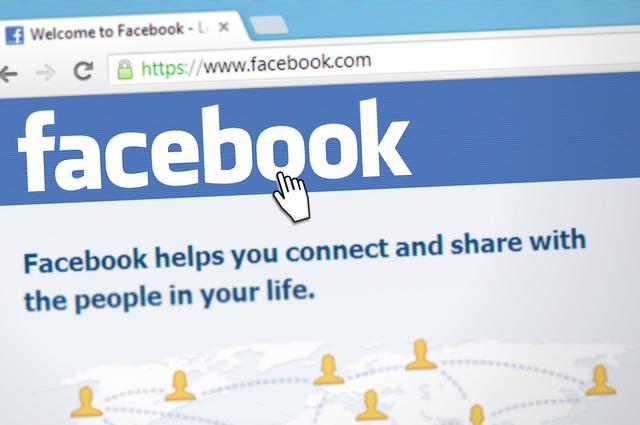 síť facebook